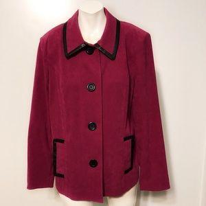 Jm Collection mauve jacket